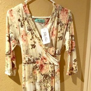 Filly Flair Floral dress